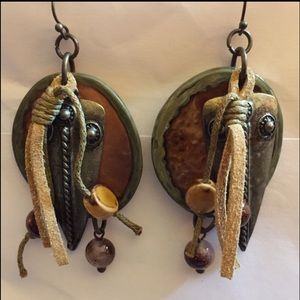 Indian look earrings